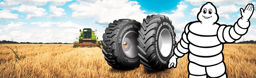 Pneu agricole Michelin