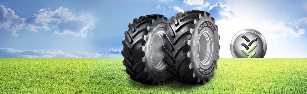 Pneu agricole Bridgestone